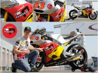 Marc VDS Racing met PASCUCCI Coffee in Argentina….